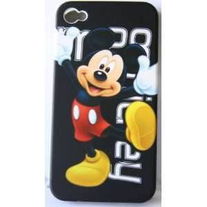 Koolshop Mickey Mouse iphone 4 Hard Case Cover Cell