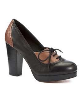 Black (Black) Shellys Block Heel Shoes  241951201  New Look