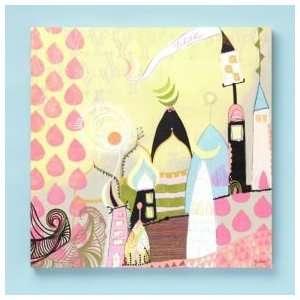Kids Personalized Art Kids Personalized Castle Wall Art