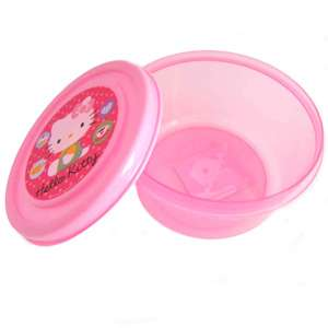 Hello Kitty Round Snack Container