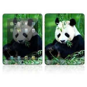 Apple iPad Decal Vinyl Sticker Skin   Panda Bear