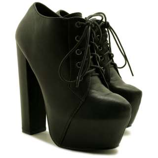 SUEDE STYLE BLOCK HEEL CONCEALED PLATFORM ANKLE BOOTS SIZE