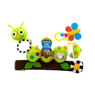 Sassy Busy Bee and Fun Firefly Stroller Clip On Toys Baby