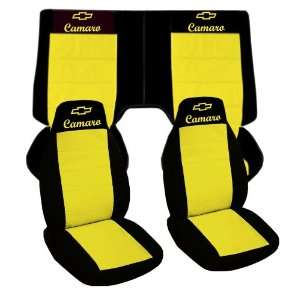 , 2001 Chevrolet Camaro car seat covers. Front and back seat covers