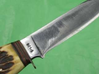 German Germany Solingen Rostfrei Hunting Knife