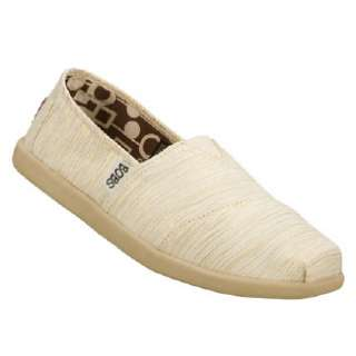 Womens Skechers Bobs World Natural Shoes