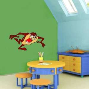 Taz Tasmanian Devil Cartoon Wall Decor sticker 25X12