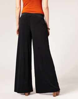 ASOS Petite  ASOS PETITE Exclusive Palazzo Trousers at ASOS