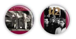 U2 Unforgettable Fire 1 Inch Pin Button Badges
