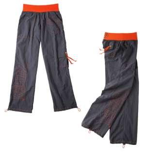 ZUMBA Logo Cargo Pants Zumbawear Dance Gunmetal Gray ALL SIZES