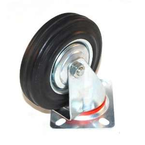 5 Heavy Duty Truck Caster with Rubber Wheel Home Improvement