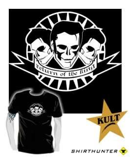 KING* Skull Rockabilly Tattoo elvis T Shirt S XXL c56