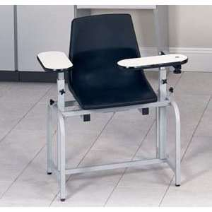 Blood drawing chair with plastic seat & swing arm Health