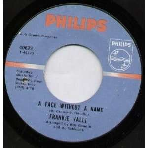 A FACE WITHOUT A NAME 7 INCH (7 VINYL 45) US PHILIPS