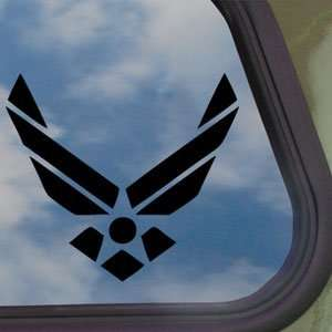 US Air Force Military Black Decal Truck Window Sticker