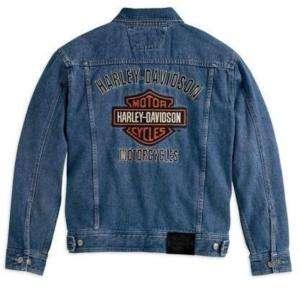 Harley Davidson Bar & Shield Herren Jeans Jacke Classic