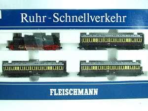 Fleischmann 7887 RUHR SCHNELLVERKEHR m. BR 78 (F795)