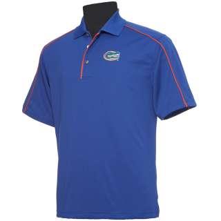 Florida Gators PGA Tour Moisture Wicking Piped Polo Shirt