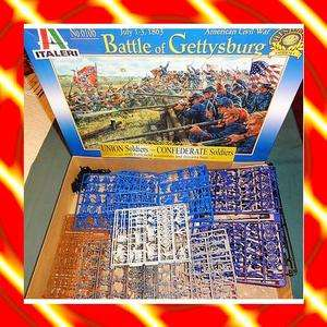 Custom Blend Gettysburg Battleset ACW MIB 1/72+++++