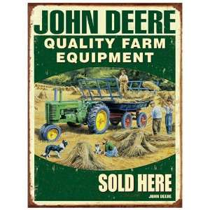 Original Metal Sign Co. Trevor Mitchell John Deere Metal
