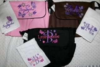 Personalized Baby Diaper bag & Burp Cloth. Owl, Farm, Sports, Cars