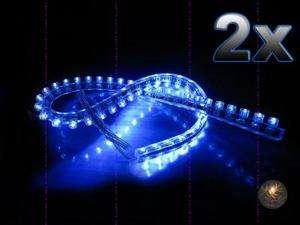 Under car Strip 48 LED Bulb neon Light 12V BLUE Flexible Strip