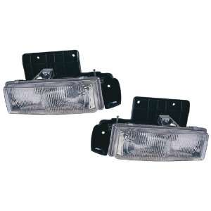 Chevy Astro/GMC Safari Replacement Headlight Assembly (Composite Type