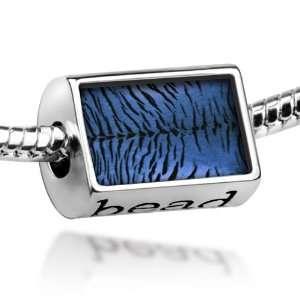 Beads Tiger skin blue, cat   Pandora Charm & Bracelet