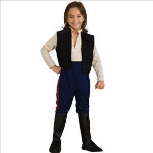 Star Wars Deluxe Han Solo Child Costume Small Toys & Games