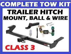 HITCH TOWING KIT FITS 2012 12 TOYOTA TACOMA PICKUP CURT #13323 CLASS 3
