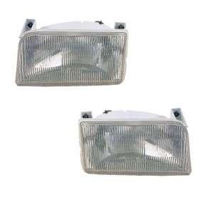 Fits Ford Bronco / Pickup Headlamp Head Light Headlight   PAIR