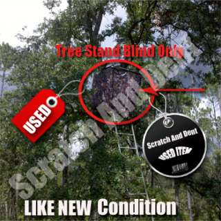 Hunting Deer BLIND Wrap for a 2 Man Ladder Tree Stand 812927013465