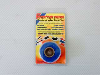 Rescue Tape Blue 12 Roll NEW Multi Purpose Stretch Self Fusing