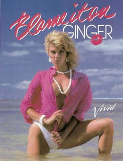 Its me Ginger Lynn atgrphd original movie slick from Blame it on