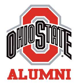OHIO STATE BUCKEYES ALUMNI vinyl decal car sticker NCAA