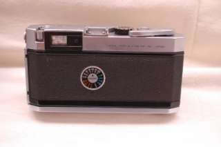 Vintage Canon P 35mm f1.8 Lens Rangefinder Camera and leather Case