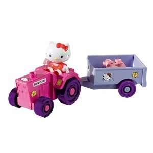 Traktor mit Anhänger Starter Set Hello Kitty Play BIG Bloxx 800057018