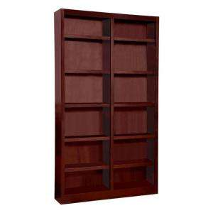 Concepts In Wood Double Wide Cherry Finish Bookcase MI4884 C at The
