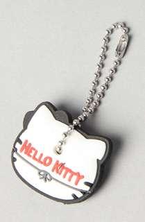 Loungefly The Hello Kitty Mustache Key Cap  Karmaloop   Global