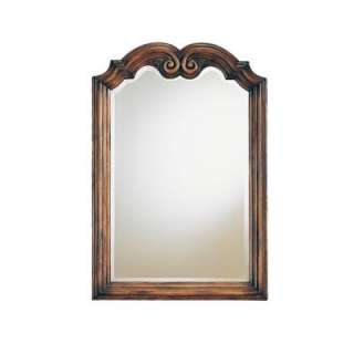 in. Framed Wall Mirror in Aged Chestnut 9586.101.255
