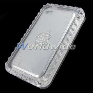 10 Luxury Metal Bling Diamond Chrome Hard Skin Case Cover For iPhone