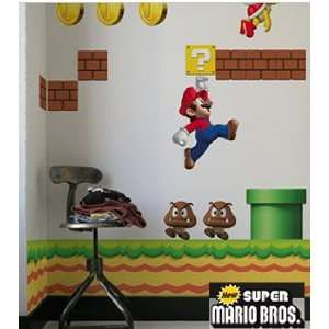 BLIK New Super Mario Bros. Wandgrafiken (wall decals)  Auto