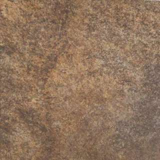 Granite Marron 6 in. x 6 in. Glazed Porcelain Floor and Wall Tile