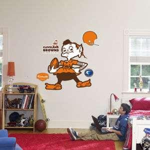 Cleveland Browns Classic Brownie Elf Logo Fathead