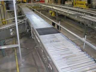 24 BDLR Belt Driven Live Roller transportation conveyor