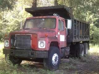 1988 International F1954 Series 6x4 Dump Truck