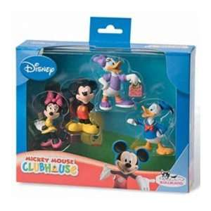 Bullyland 15022   Walt Disney Mickey Mouse Geschenkbox 4 Figuren