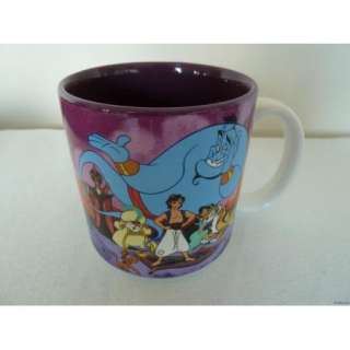 Walt Disney Aladdin & Friends Collectible Coffee Mug Very Cool