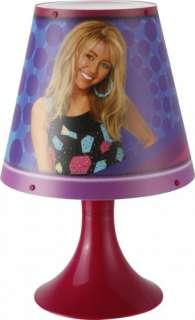Nachttischlampe Lampe Disney Hannah Montana Motiv +Kuli