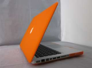 3in1 Orange Rubberized Hard Case for new Macbook Pro 13